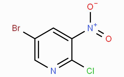 5-Bromo-2-chloro-3-nitropyridine