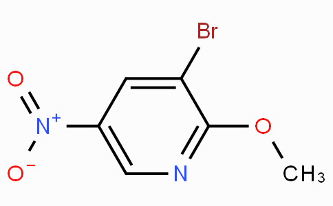 3-溴-2-甲氧基-5-硝基吡啶
