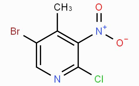 5-溴-2-氯-4-甲基-3-硝基吡啶