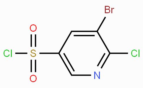 3-Bromo-2-chloropyridine-5-sulfonyl chloride