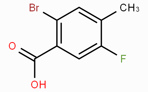 2-Bromo-5-fluoro-4-methylbenzoic acid