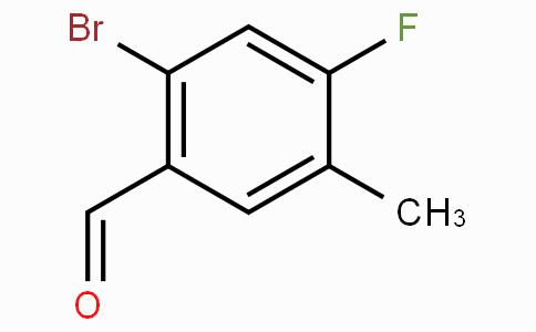 2-Bromo-4-fluoro-5-methylbenzaldehyde