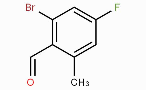 2-溴-4-氟-6-甲基苯甲醛