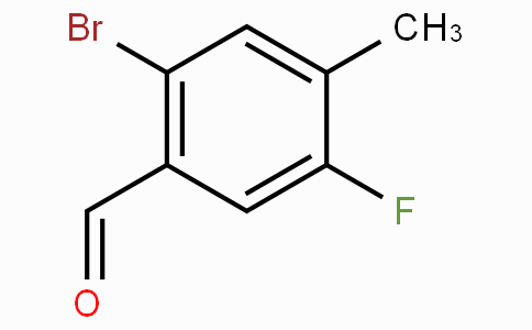 2-溴-5-氟-4-甲基苯甲醛