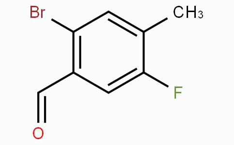 2-Bromo-5-fluoro-4-methylbenzaldehyde