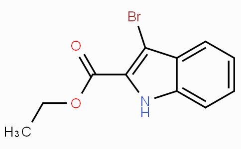 3-Bromo-2-indolecarboxylic acid ethyl ester