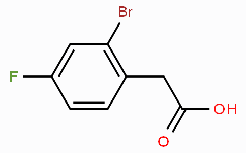 2-Bromo-4-fluorophenylacetic acid