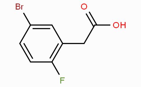 5-Bromo-2-fluorophenylacetic acid