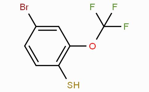 4-溴-2-(三氟甲氧基)苯硫酚