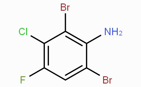 3-Chloro-2,6-dibromo-4-fluoroaniline