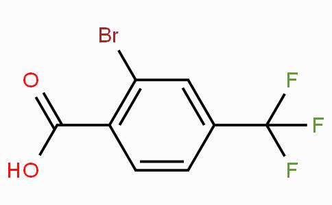 2-Bromo-4-(trifluoromethyl)benzoic acid