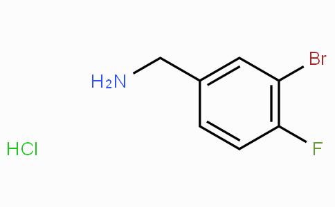 3-Bromo-4-fluorobenzylamine hydrochloride