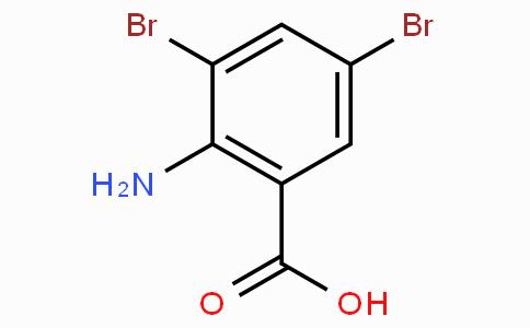 2-氨基-3,5-二溴苯甲酸