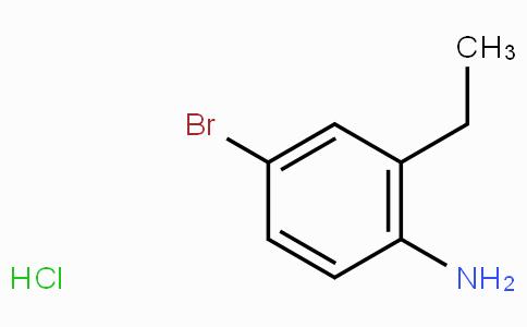 4-溴-2-乙基苯胺盐酸盐