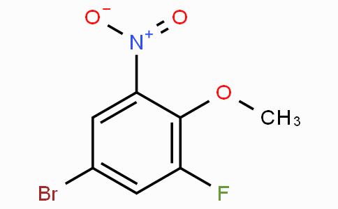 4-Bromo-2-fluoro-6-nitroanisole