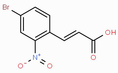 4-Bromo-2-nitrocinnamic acid