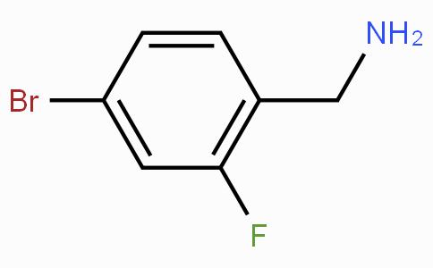 4-Bromo-2-fluorobenzylamine