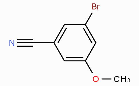 3-溴-5-甲氧基苯腈