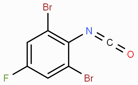 2,6-Dibromo-4-fluorophenyl isocyanate
