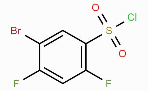 5-bromo-2,4-difluorobenzene-1-sulfonyl chloride
