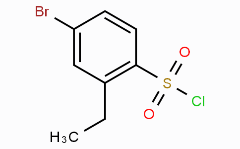 4-Bromo-2-ethylbenzenesulfonyl chloride