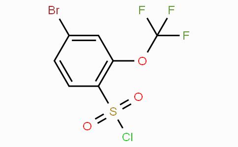 4-Bromo-2-(trifluoromethoxy)benzenesulfonylchloride
