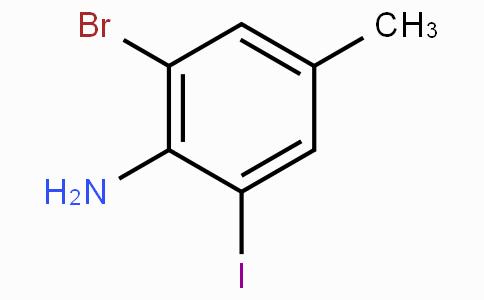 2-Bromo-6-iodo-4-methylaniline