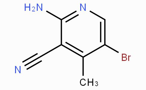2-氨基-3-氰基-4-甲基-5-溴吡啶