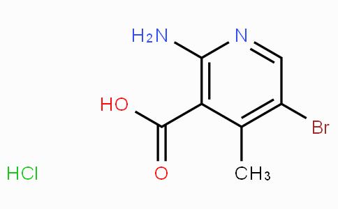 2-Amino-5-bromo-4-methylnicotinic acid hydrochloride