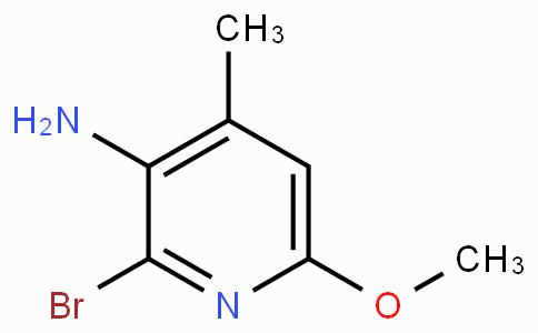 3-Amino-2-bromo-6-methoxy-4-picoline
