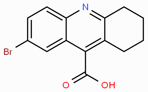 7-Bromo-1,2,3,4-tetrahydro-acridine-9-carboxylicacid