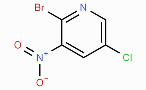 2-溴-5-氯-3-硝基吡啶