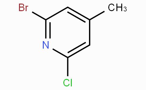 2-Bromo-6-chloro-4-picoline