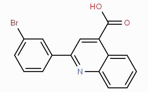 2-(3-Bromo-phenyl)-quinoline-4-carboxylic acid