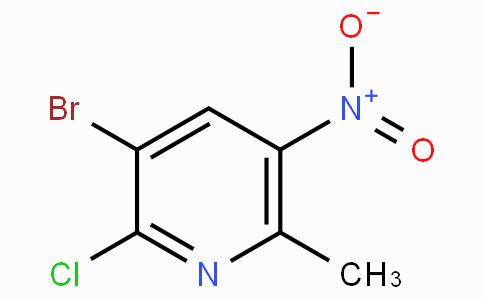 3-Bromo-2-chloro-5-nitro-6-picoline