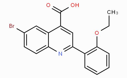 6-Bromo-2-(2-ethoxyphenyl)quinoline-4-carboxylic acid