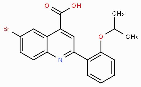 6-Bromo-2-(2-isopropoxyphenyl)quinoline-4-carboxylic acid