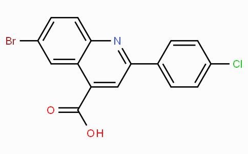 6-溴-2-(4-氯苯基)喹啉-4-羧酸