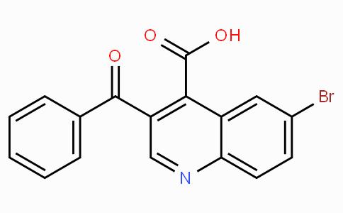 3-Benzoyl-6-bromoquinoline-4-carboxylic acid