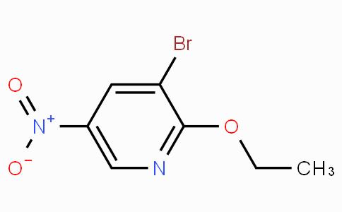 3-Bromo-2-ethoxy-5-nitropyridine