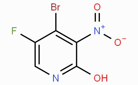 4-Bromo-5-fluoro-2-hydroxy-3-nitropyridine