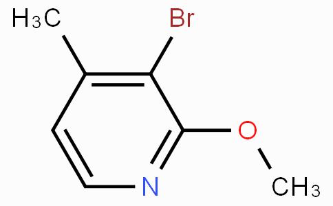3-溴-2-甲氧基-4-甲基吡啶