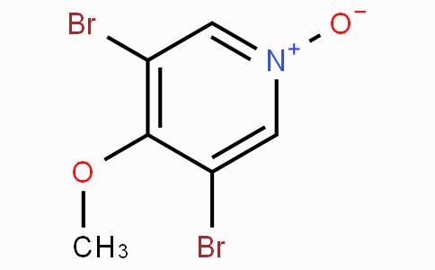 3,5-Dibromo-4-methoxypyridine-N-oxide