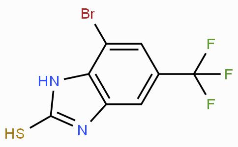 4-Bromo-6-(trifluoromethyl)benzimidazole-2-thiol