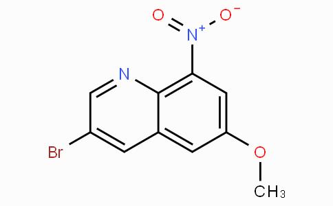 3-Bromo-6-methoxy-8-nitro quinoline