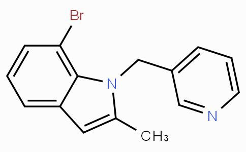 7-Bromo-2-methyl-1-pyridin-3-ylmethyl-1H-indole