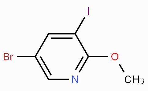 5-Bromo-3-iodo-2-methoxy-pyridine