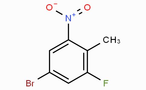 4-溴-2-氟-6-硝基甲苯