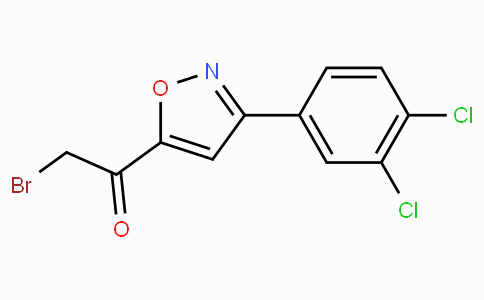 5-(Bromoacetyl)-3-(3,4-dichlorophenyl)isoxazole