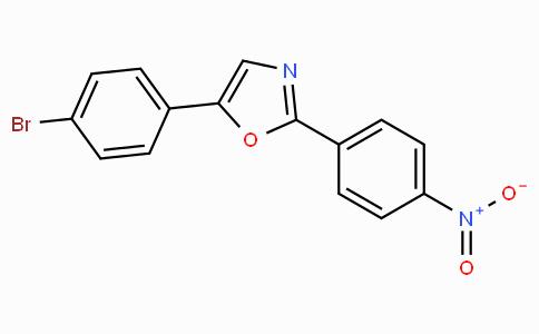 5-(4-Bromo-phenyl)-2-(4-nitro-phenyl)-oxazole
